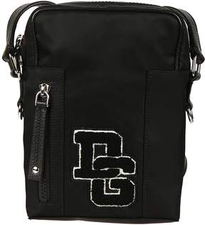 Dolce & Gabbana Small Brand Patch Shoulder Bag