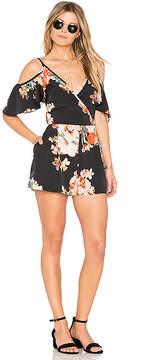 Band of Gypsies Large Floral Playsuit