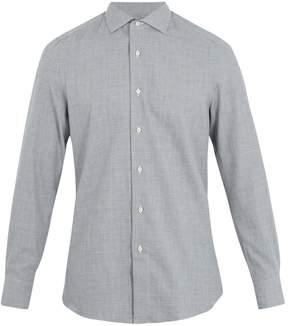 Boglioli Checked cotton shirt