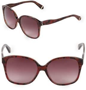 Zac Posen Women's Anita 58MM Square Sunglasses
