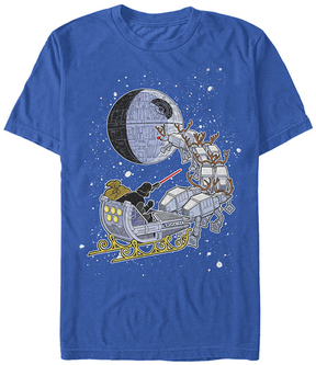 Fifth Sun Star Wars Royal Vader Sleigh Tee - Men's Regular