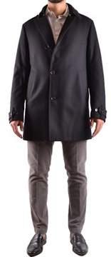 Allegri Men's Black Wool Coat.