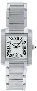 Cartier W51002Q3 Men's Tank Watch
