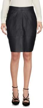 BLK DNM Knee length skirts