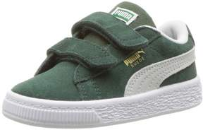 Puma 365077-06: Baby Suede Classic Kids Pine Needle White Sneaker (4 M US Toddler)