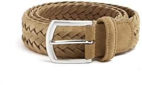Andersons ANDERSON'S Woven suede belt