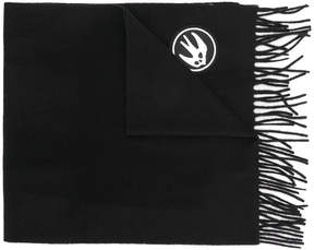 McQ Swallow badge scarf