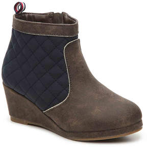 Tommy Hilfiger Girls Cate Toddler & Youth Wedge Boot