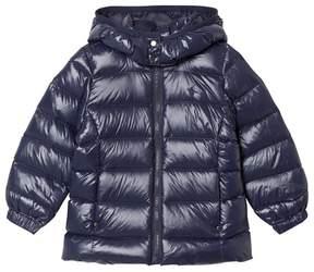Ralph Lauren Blue Down Feather Hooded Jacket