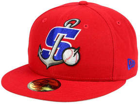 New Era Stockton Ports MiLB Logo Grand 59FIFTY Fitted Cap