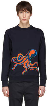 Paul Smith Navy Octopus Sweatshirt
