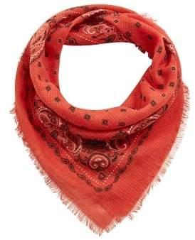 Violeta BY MANGO Bandana print scarf