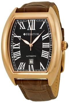 Heritor Redmond Automatic Black Dial Men's Watch