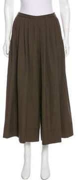 Cacharel High-Rise Virgin Wool-Blend Culottes
