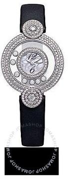 Chopard Happy Diamonds Mother of Pearl Silk Strap Ladies Watch