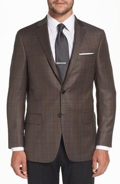 Hart Schaffner Marx Men's Classic Fit Plaid Wool Sport Coat