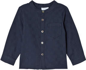 Mini A Ture Noa Noa Miniature Navy Long Sleeve Blouse