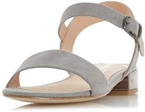 Head Over Heels *Head Over Heels by Dune Grey Niccy Heeled Sandals