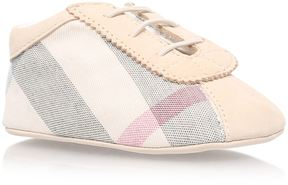 Burberry Check Baby Booties