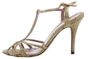 Jean-Michel Cazabat Oresta Metallic Sandals