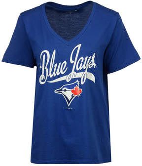 5th & Ocean Women's Toronto Blue Jays Baseball Baby T-Shirt