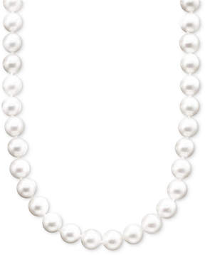 Belle de Mer Pearl Necklace, 18 14k Gold A+ Akoya Cultured Pearl Strand (8-8-1/2mm)
