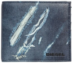Diesel Ripped Denim Effect Pvc Coin Wallet