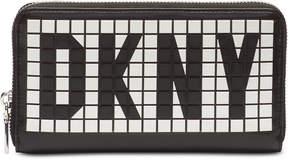 DKNY Tilly Logo Zip Around Wallet
