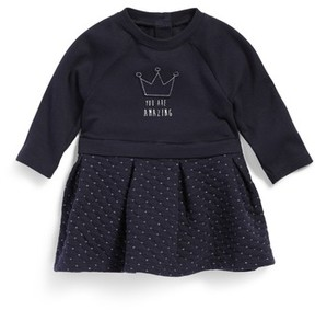 Robeez Infant Girl's Quilted Knit Dress