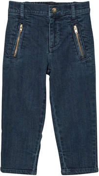 Mini Rodini Vintage Denim Zip Trousers