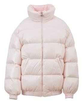 Chiara Ferragni Women's Pink Polyamide Down Jacket.