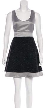 Emporio Armani Sleeveless Flared Dress