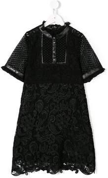 John Richmond Kids lace detail dress