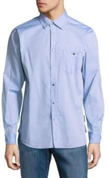 Hudson Leeward Cotton Casual Button-Down Shirt