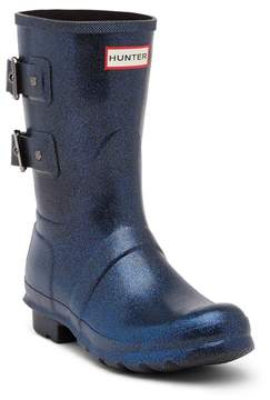 Hunter Short Waterproof Mercury Stormcloud Rain Boot