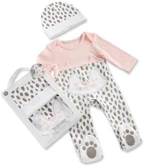 Baby Aspen Baby Girl Trendy Baby Kitty 2-Piece Pajama Gift Set