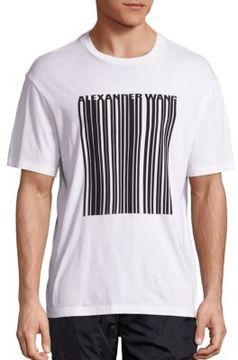 Alexander Wang Barcode Cotton Tee