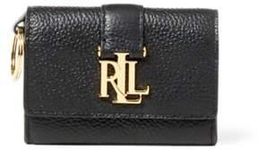 Ralph Lauren Leather Commuter Wallet Black One Size
