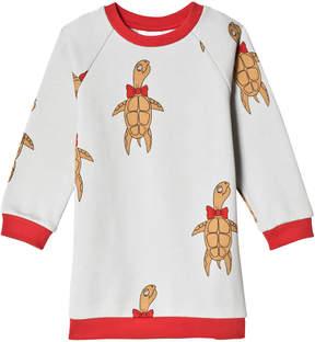 Mini Rodini Grey Turtle Sweater Dress