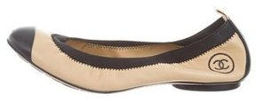 Chanel CC Stretch Spirit Flats