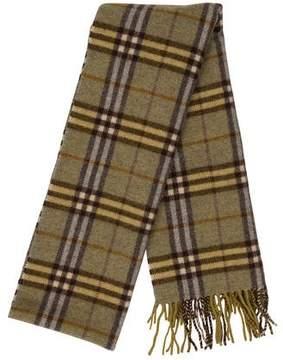 Burberry Wool Nova Check Scarf