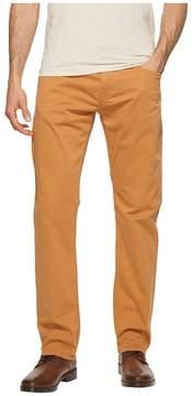 Mavi Jeans Zach Regular Rise Straight Leg in Almond Twill Men's Jeans