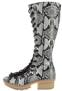3.1 Phillip Lim Mallory Peep-Toe Boots