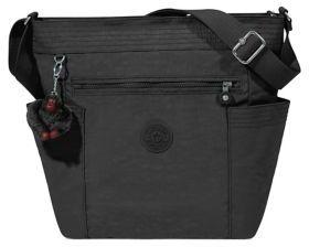 Kipling Melvin Crossbody Bag - BLACK - STYLE