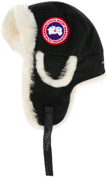 Canada Goose lined flap hat