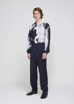 Lemaire Two Pleated Tropical Wool Pants