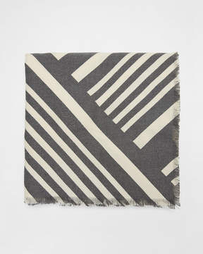 Express Diagonal Stripe Square Scarf