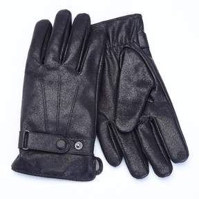 Royce Leather Royce Premium Lambskin Leather Cellphone Tablet Touchscreen Gloves - Black