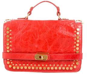 Rebecca Minkoff Studded Leather Bag - RED - STYLE