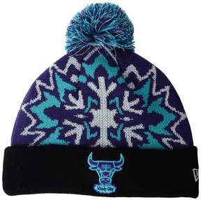 New Era Chicago Bulls Glowflake Knit Hat